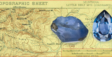 Yogo Sapphires : The 'Blue Pebbles' of Montana